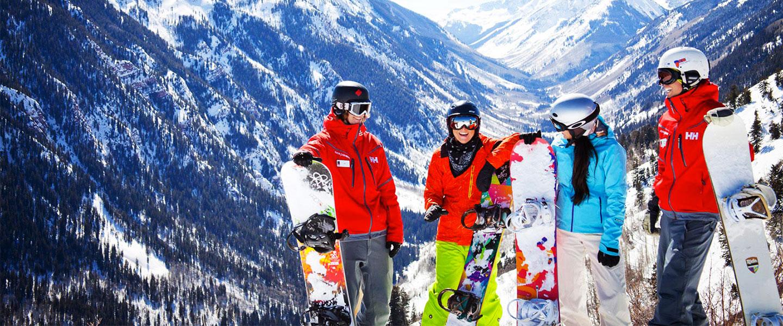 snowboard lessons switzerland